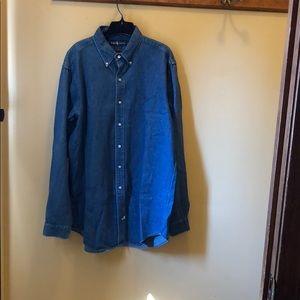 Men's Ralph Lauren extra long shirt size LT